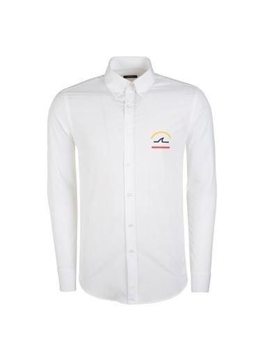 Paul Smith Blue Gömlek Beyaz